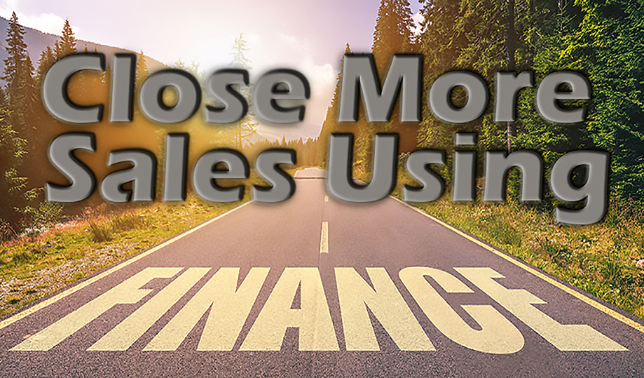 How Offering Financing/Leasing Helps You Sell More