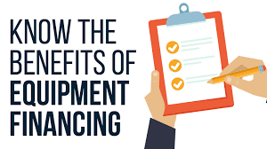 Equipment Financing Advantages